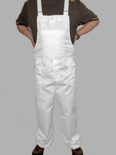 Latzhose für Maler//Lackierer strapazierfähig Weiß TOP Qualität Tencate 02