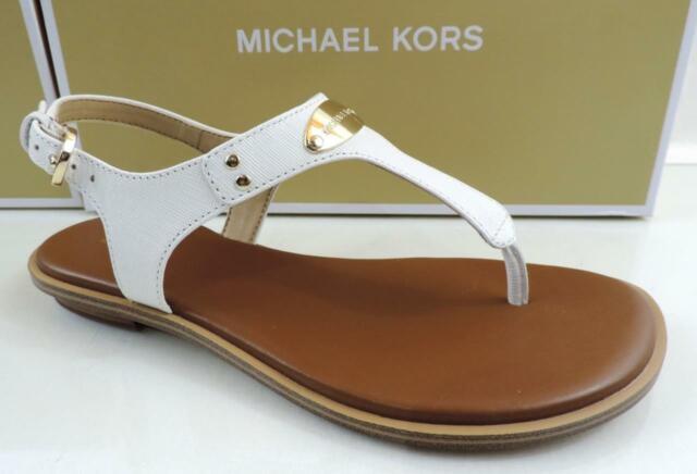 Michael Kors Kristen Thong Sandal Optic