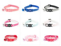 Ancol Cat & Kitten Collars – Dotty Reflective Jewel – some with safety buckles