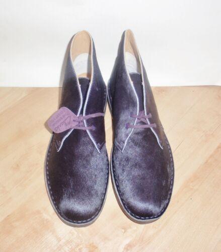 Boots Originals Desert 43 Mens Eur 9 Uk Pony New Clarks Melanzana taglia gUq75qYw