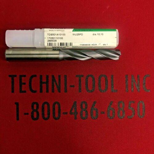 17050110100 10.1mm TiAlN Coolant-Thru 3xD HP Drill 2965035