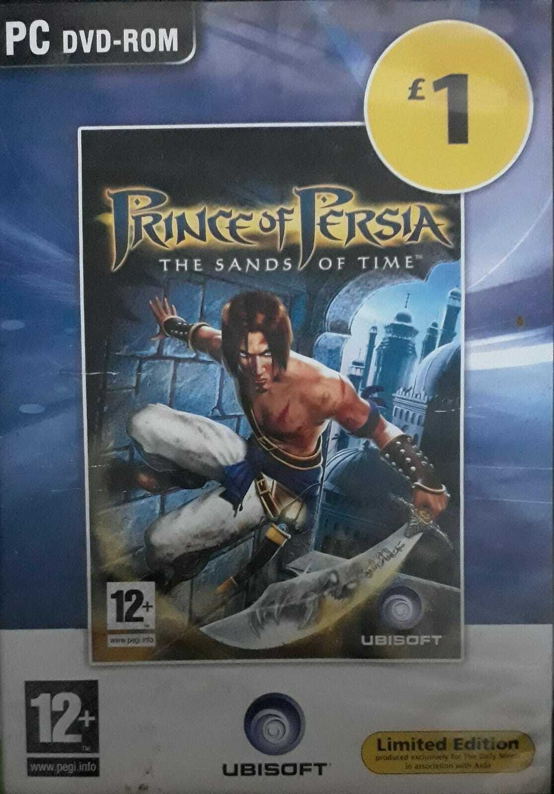 Prince Of Persia The Sands Of Time Limited Edition Pc Cd Dvd Rom Games For Sale