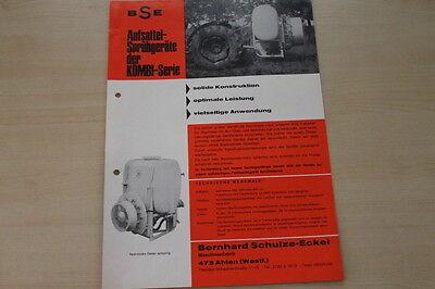 162749) Bse Aufsattelsprühgerät Type 301 501 631 Prospekt 198?