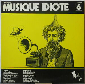 ROGER-ROGER-Musique-Idiote-LP-Library-Moog-Record-Original-on-Neuilly-C-Leuter