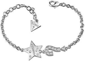 GUESS-Schmuckstuecke-Armband-Damen-Anhaenger-Stern-UBB83042S-Neu