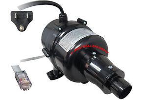 CG-Air-variable-speed-BLOWER-750w-motor-120V-1HP-w-300w-air-heater-amp-NEMA-plug