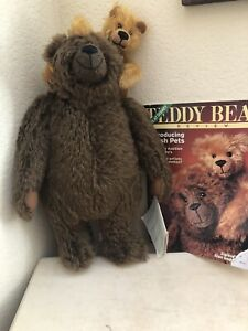 Sigikid Stan and Rovy Renate Hierold  Artist Teddy Bears LE 38/200 MWT 1996 COA