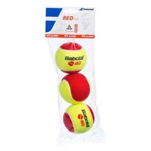 2x-packs-of-3x-Babolat-Mini-Tennis-Coaching-Red-Junior-Balls-Wimbledon