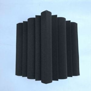4-pcs-Corner-Bass-Trap-Acoustic-Panel-Studio-Sound-Absorption-Foam-12-12-24-A4X2