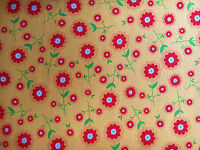 Riley Blake Fabric Delighted Floral On Yellow- Yards