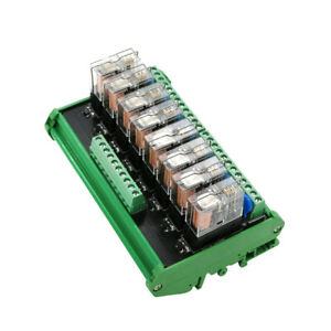8-Relay-Module-Omron-Eight-Panels-Driver-Board-Module-DC-24V-10A-PNP-Shell