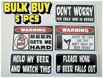 Only had 12 beers  Funny Bumper Sticker Decal