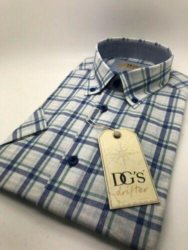15519SS Men/'s Short Sleeved Summer Weight Drifter Shirt M-4XL