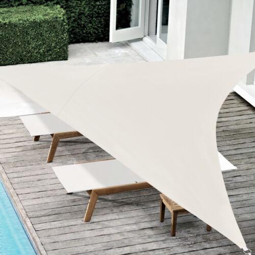 Sonnensegel Sandfarben Sonnenschutz UV-Schutz Sonnendach 400x400x400cm en.casa