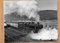 "West highlander 44932 sidings Fort William 11/8/86 large Original 10""x8"" photo"
