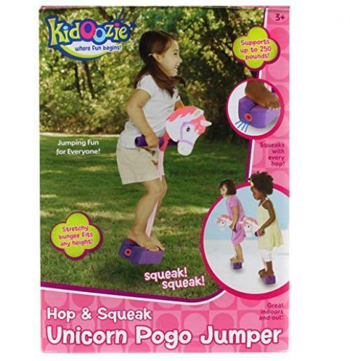 Kidoozie Foam Unicorn Pogo Jumper For All Sizes, 250 Pound Capacity Fun and Safe