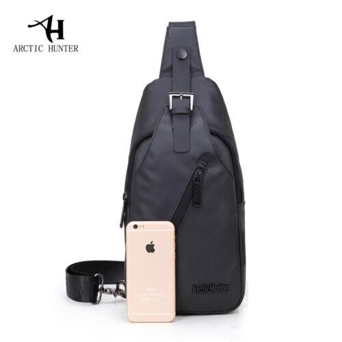 Men/'s Shoulder Bag Cross Body sling bag casual Chest bag Hiking Riding backpack