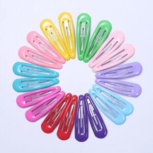 20Pcs-Sweet-Girl-Child-Kids-Snap-Hair-Clips-Pins-BB-Hairpins-Hairclip-Barrettes