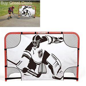 Hockey Net Shooting Target Goal Skill Shot Practice Full Size Goalie
