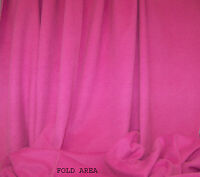 Soft Heavy Pink Cashmere Wool Fabric 2 Yards, 32