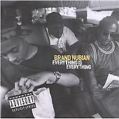 Black Nubian: Everything Is Everything: CD Album: Europe 1994 - Parental Advsy