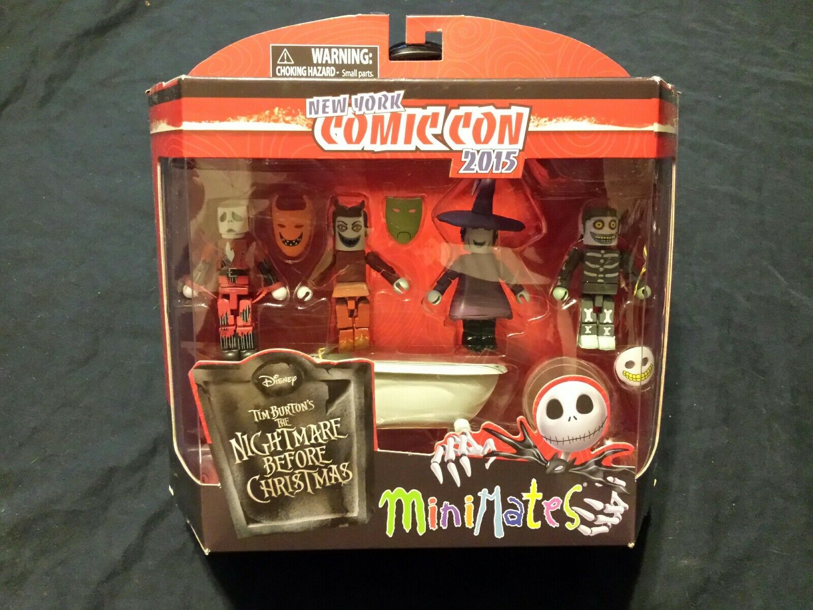The Nightmare Before Christmas  New York Comic Con 2015 Minimates Deluxe Box Set