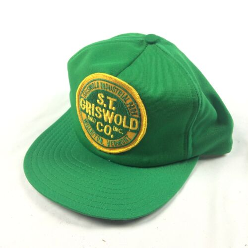VTG S.T. Griswold CO INC Patch Hat Cap Trucker Mad