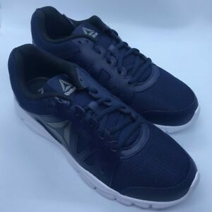 79833d8b70d5c5 New Reebok Mens Trainfusion Nine 2.0 Lmt Navy Running Shoes Size 8 ...