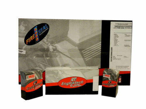 1980-1990 BBC CHEVY 454 7.4L PREMIUM REMAIN RERING KIT RINGS BEARINGS GASKETS