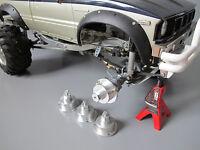 Tamiya 1/10 Toyota Bruiser Mountaineer Aluminum Wheel Rim Adapter Hub 12mm 4pcs