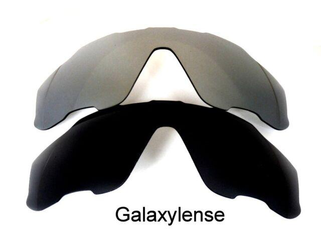 df1bfc1d8e Galaxy Replacement Lenses For Oakley Jawbreaker Polarized Black Titanium 2  Pairs