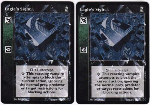 V:TES VTES Eagle's Sight x2 Mixed KoT//3rd Ed.//LoB//BH//Camarilla Ed.//V:TES Ed