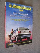 QUATTRORUOTE # 428 - GIUGNO 1991 - CITRÖEN ZX, FIAT TIPO E VW GOLF -QUASI OTTIMO