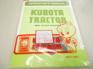 35450-99710-KUBOTA-M4500-M4500DT-TRACTOR-OPERATORS-MANUAL