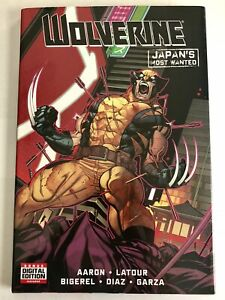 New-HC-WOLVERINE-Japan-s-Most-Wanted-HARDCOVER-tpb-Marv-Comics-FREE-COMB-S-H