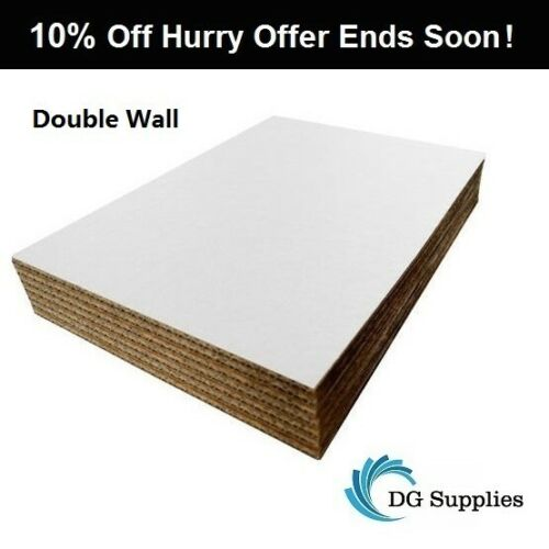 A4 A3 A2 A1 Double Wall Cardboard Corrugated Sheets Pads Divider Art Craft Board
