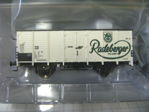 "Brawa HO 49046 couvert wagons G 10 /""radeberg bière/"" le Dr nouveau OVP"