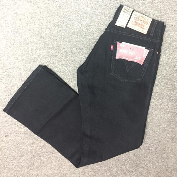 d7c66030547 Levi s Mens 517 Boot Cut Jeans - Black 31x34 34 Regular