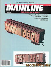 Mainline Modeler June 05 Newsstands C&NW KCS Refueling Locomotives Soo Line Bus