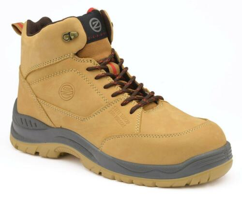 Zephyr ZX73 honey nubuck leather S1P hiker safety boot with midsole SALE PRICE
