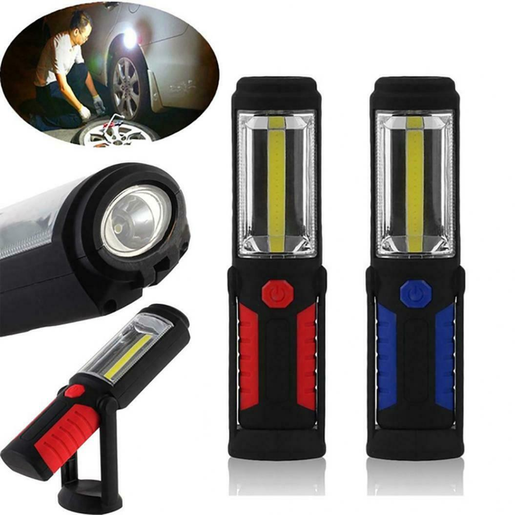 Rechargeable LED Work Light COB LED Inspection Lamp Light Hand Torch Magnetic