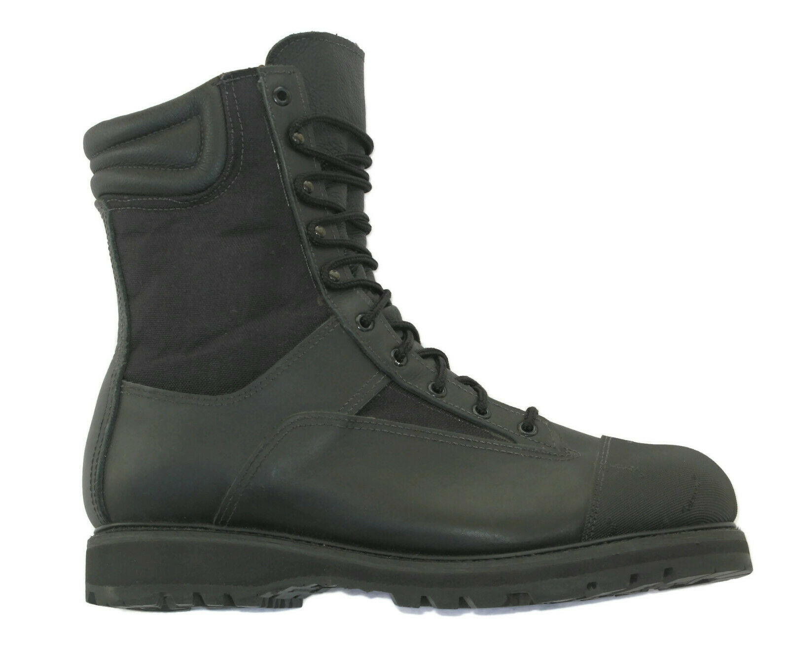 All American Boot Co Hvy Duty Work Motorcycle Police boot Sz 10 EE Steel Toe NEW