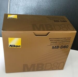 New-Nikon-MB-D80-Multi-Power-Battery-Pack-for-D80-D90-Camera-with-Nikon-warranty