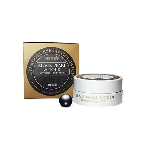 [Petitfee] Black Pearl & Gold Eye Patch 60ea (30days)