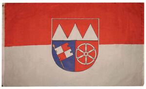 3x5-Bezirk-Unterfranken-Bavaria-German-Germany-Rough-Tex-Knitted-flag-3-039-x5-039