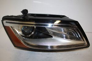 Details about 13 14 15 16 AUDI Q5 BI XENON NON ADAPTIVE LED HEADLIGHT RIGHT  PASSENGER SIDE OEM