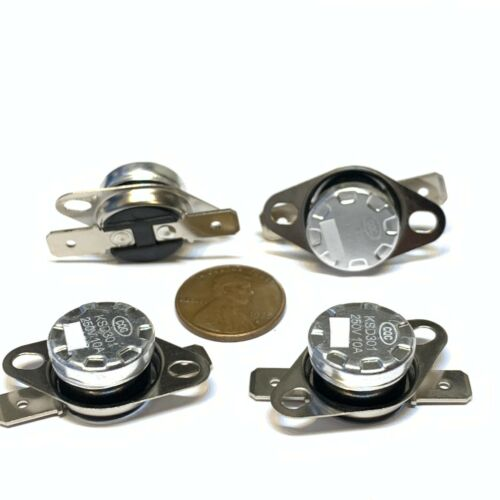 4 Pieces N//C 100ºC 212ºF normally closed Thermal  Thermostat switch KSD301 C26