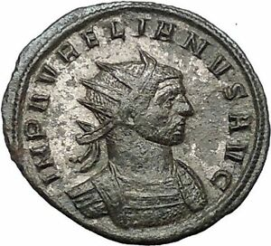 AURELIAN-receiving-wreath-from-Orbis-274AD-Rare-Ancient-Roman-Coin-i54450