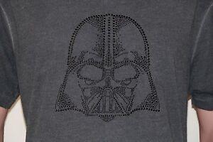 Star-Wars-vs-Mark-Ecko-RARE-Darth-Vader-T-Shirt-LARGE-Gray