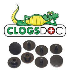 977240ec68ee6b Crocs Shoes Replacement Rivet Strap Button Repair OEM Black W Logo ...